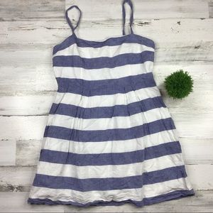 Ann Taylor Loft Petites Striped Dress Size 12P